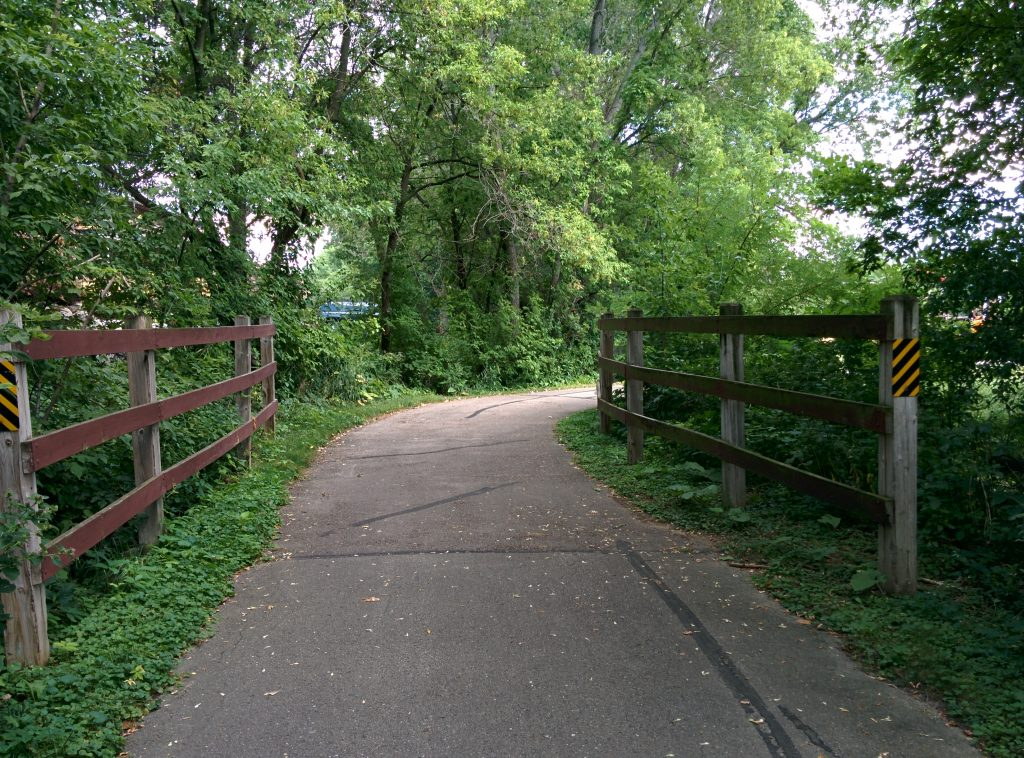 bike trail bridge